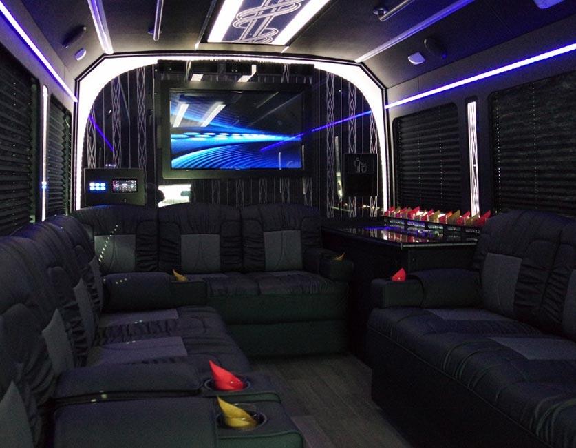 luxury coach first